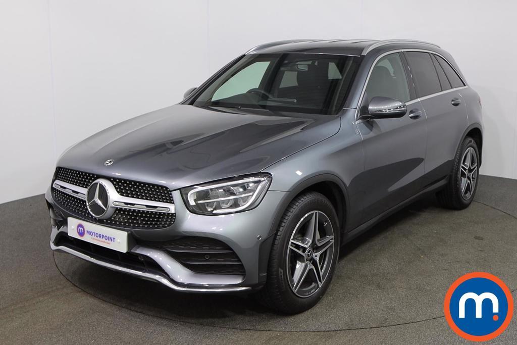 Mercedes-Benz GLC AMG Line - Stock Number 1147395 Passenger side front corner