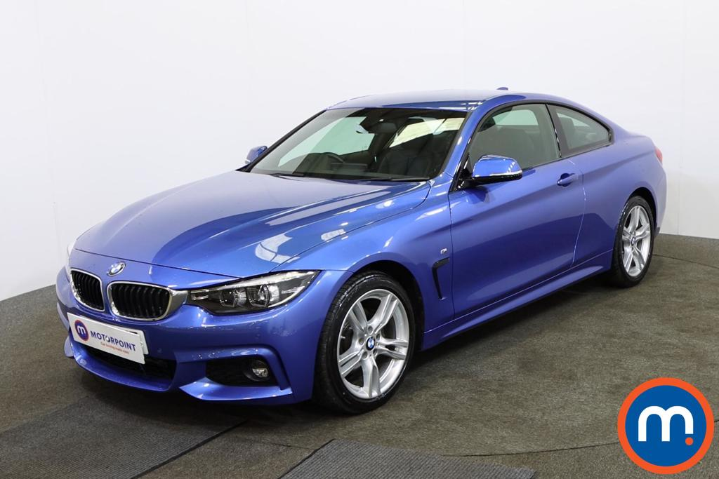 BMW 4 Series 420d [190] M Sport 2dr Auto [Professional Media] - Stock Number 1147764 Passenger side front corner