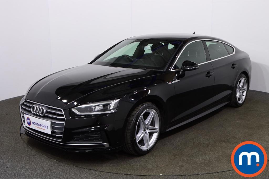 Audi A5 S Line - Stock Number 1136723 Passenger side front corner