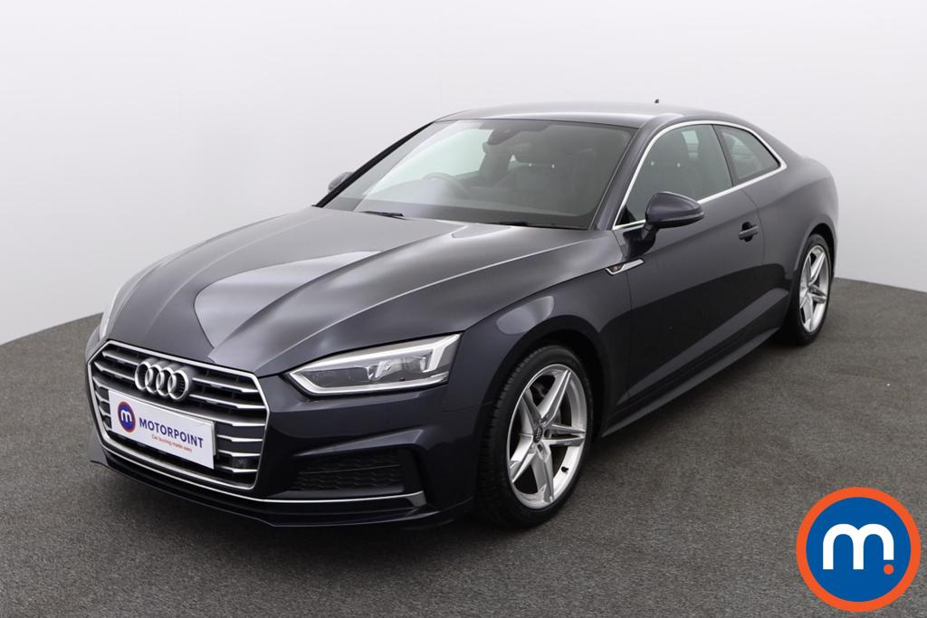 Audi A5 2.0 TDI S Line 2dr S Tronic - Stock Number 1144313 Passenger side front corner