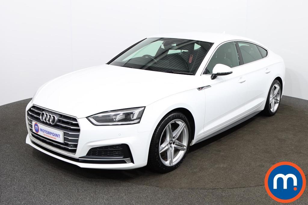 Audi A5 S Line - Stock Number 1145263 Passenger side front corner