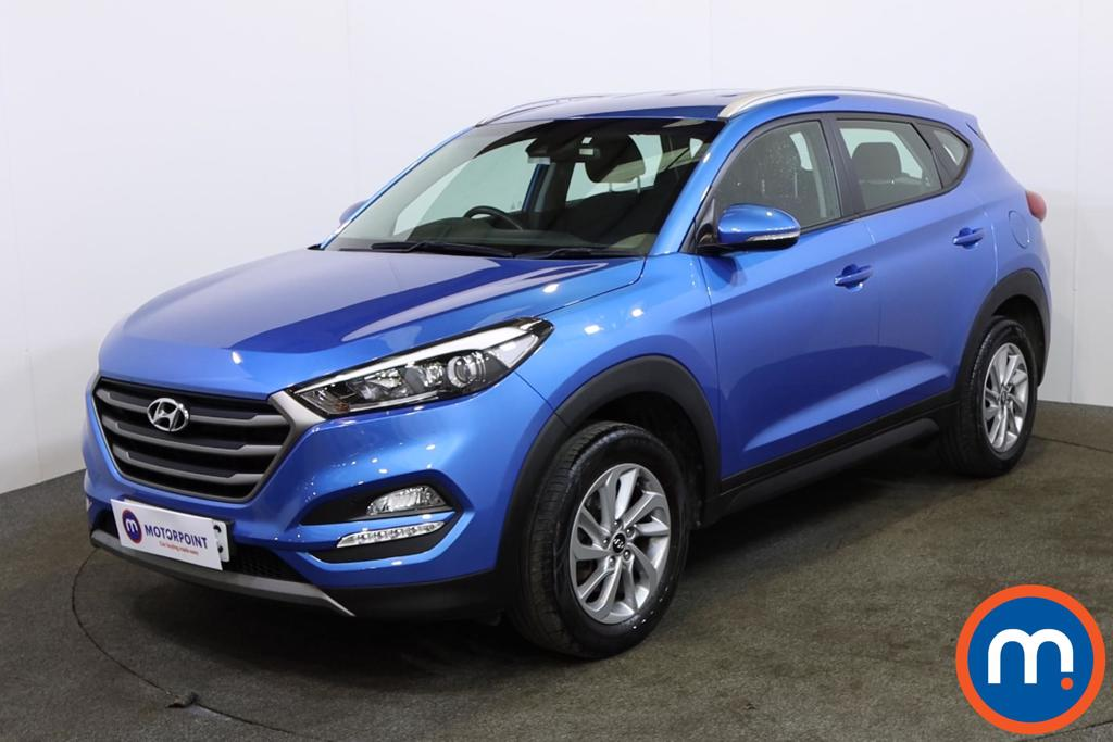Hyundai Tucson SE Nav - Stock Number 1146045 Passenger side front corner