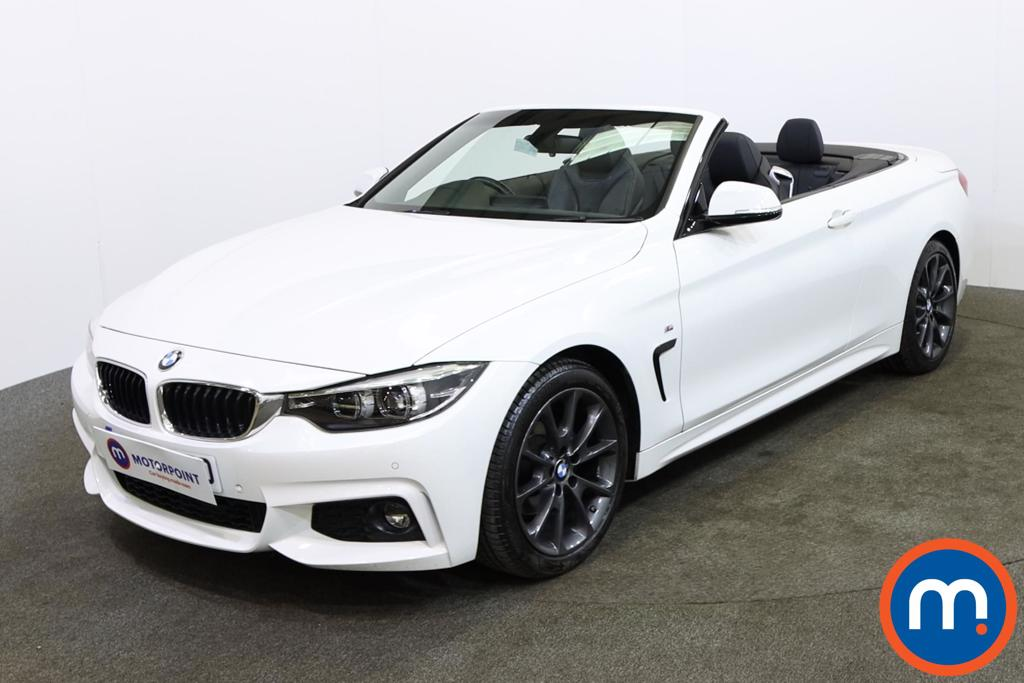 BMW 4 Series M Sport - Stock Number 1147566 Passenger side front corner