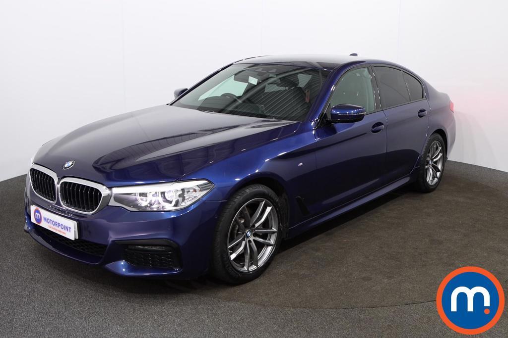 BMW 5 Series M Sport - Stock Number 1148569 Passenger side front corner