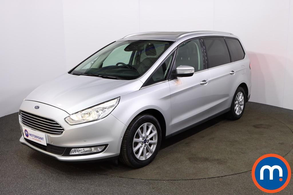Ford Galaxy Titanium X - Stock Number 1093642 Passenger side front corner