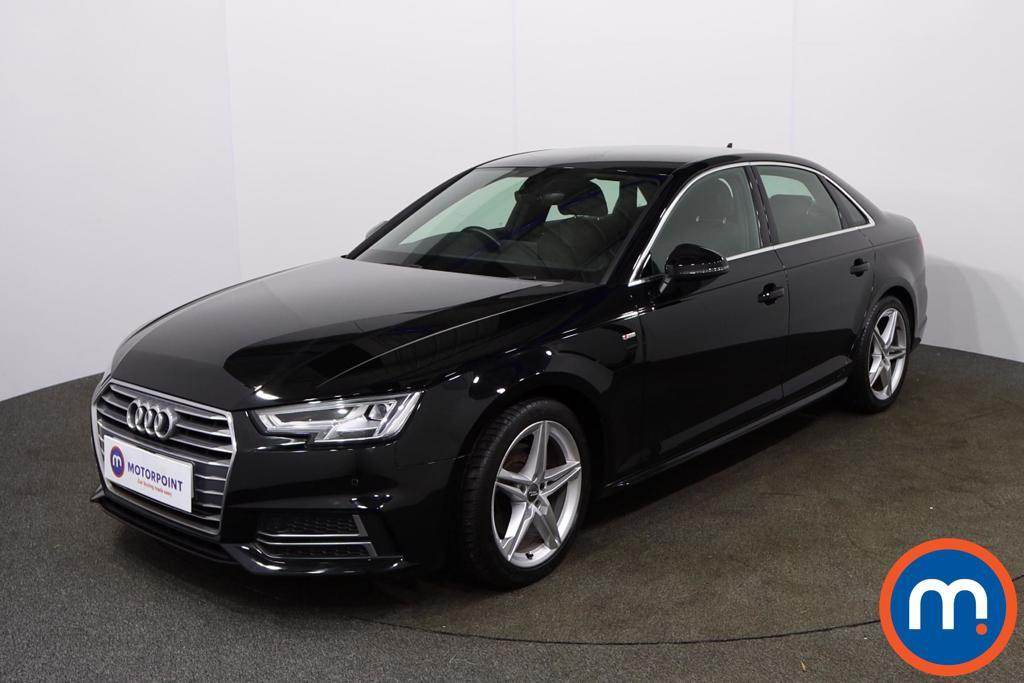Audi A4 S Line - Stock Number 1126262 Passenger side front corner