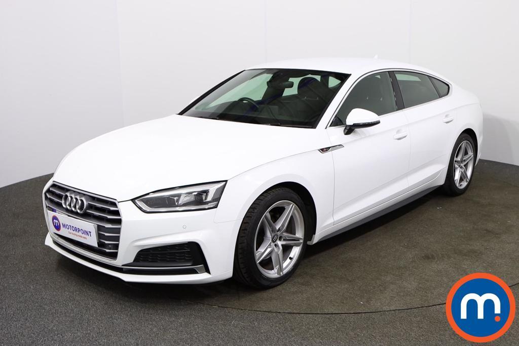 Audi A5 S Line - Stock Number 1130171 Passenger side front corner
