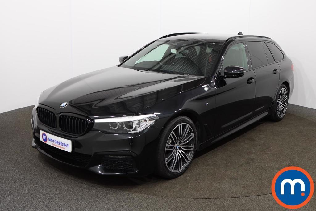 BMW 5 Series 520d M Sport 5dr Auto - Stock Number 1146443 Passenger side front corner