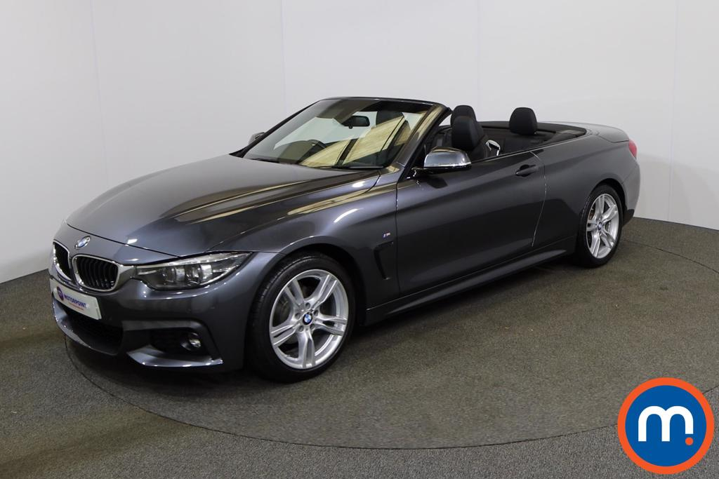 BMW 4 Series 420i M Sport 2dr Auto [Professional Media] - Stock Number 1146435 Passenger side front corner