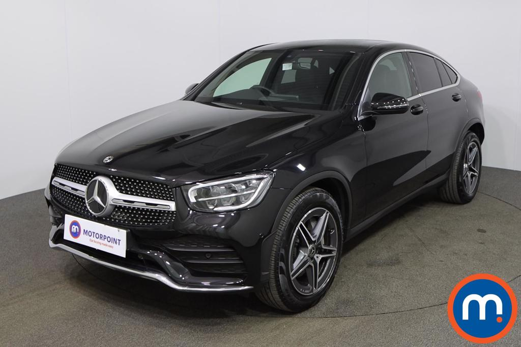Mercedes-Benz Glc Coupe GLC 300 4Matic AMG Line 5dr 9G-Tronic - Stock Number 1147950 Passenger side front corner