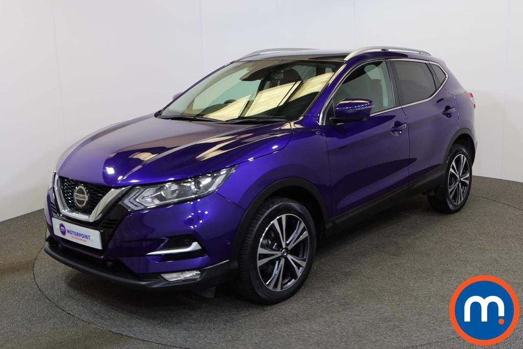 Nissan Qashqai 1.5 dCi 115 N-Connecta 5dr [Glass Roof Pack] - Stock Number 1149441 Passenger side front corner