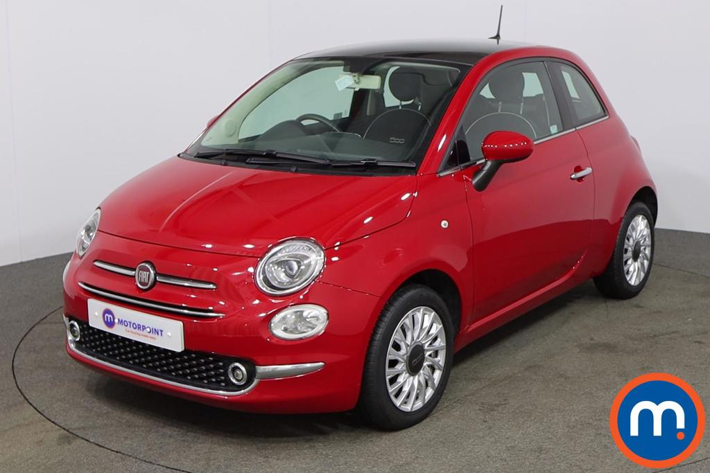 Fiat 500 Lounge - Stock Number 1149933 Passenger side front corner