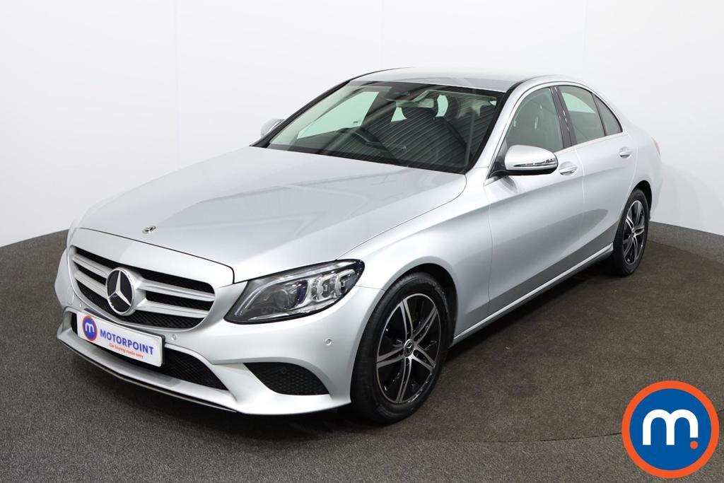 Mercedes-Benz C Class Sport - Stock Number 1142060 Passenger side front corner