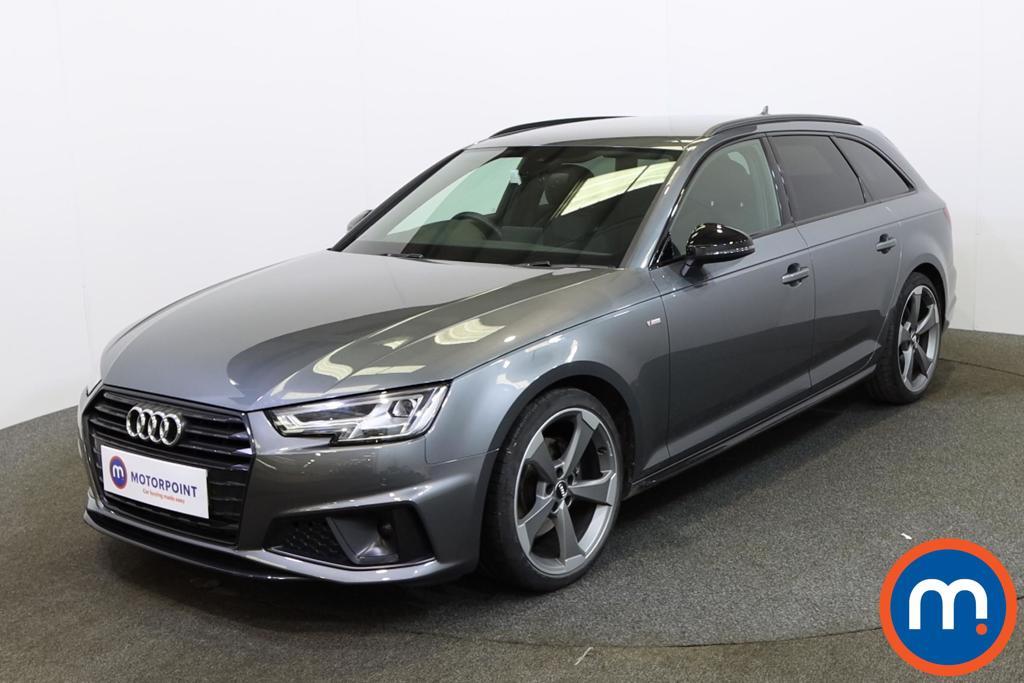 Audi A4 Black Edition - Stock Number 1146616 Passenger side front corner