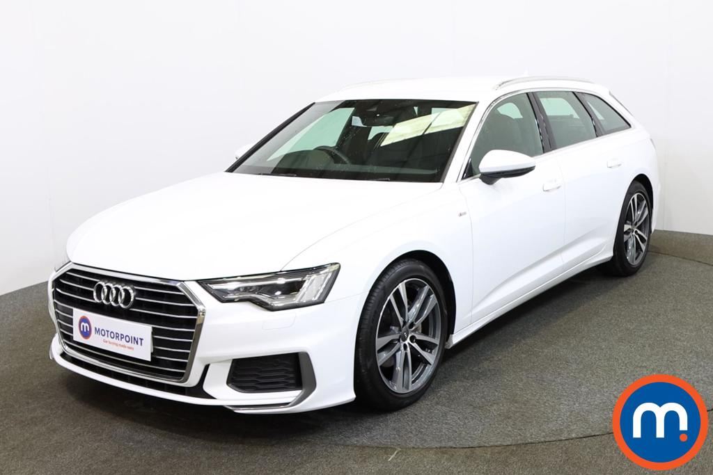Audi A6 40 TDI S Line 5dr S Tronic [Tech Pack] - Stock Number 1147861 Passenger side front corner