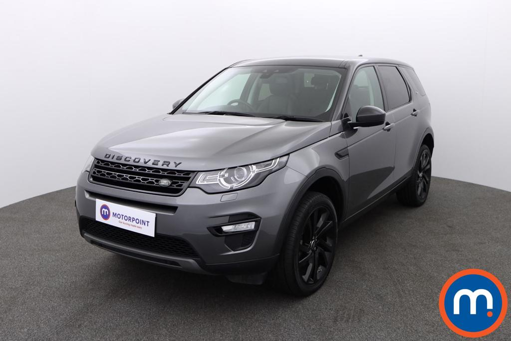 Land Rover Discovery Sport 2.0 TD4 180 HSE Black 5dr Auto - Stock Number 1148223 Passenger side front corner