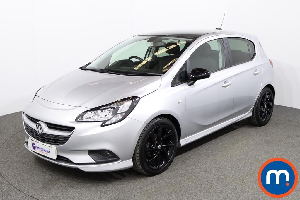 Vauxhall Corsa 1.4 SRi Vx-line Nav Black 5dr - Stock Number 1149418 Passenger side front corner