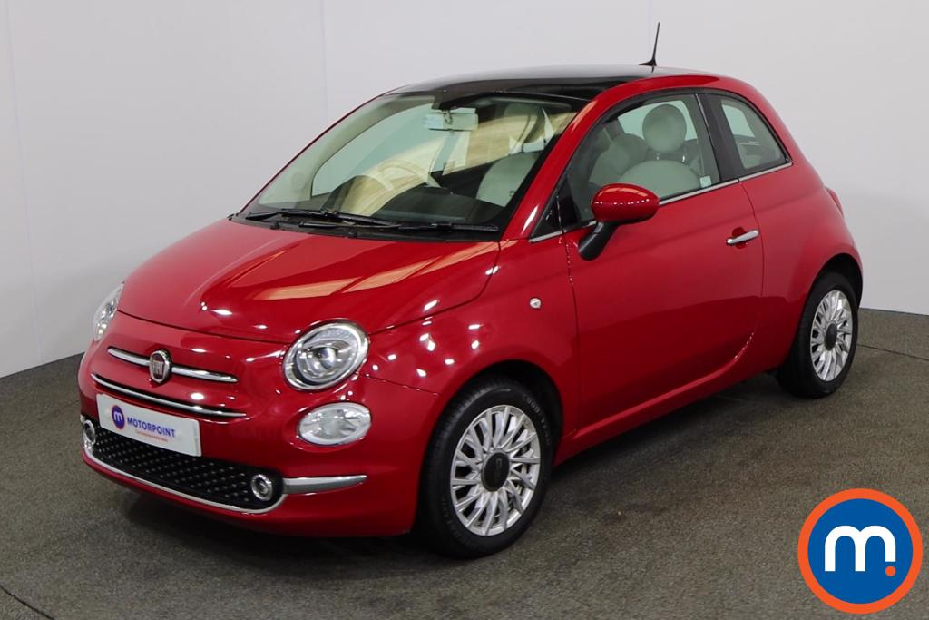 Fiat 500 Lounge - Stock Number 1150230 Passenger side front corner
