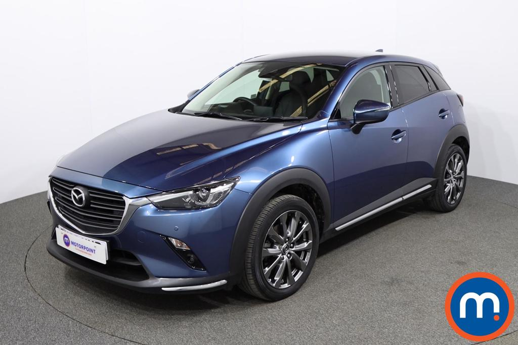 Mazda Cx-3 2.0 150 Sport Nav -Plus 5dr AWD - Stock Number 1150795 Passenger side front corner
