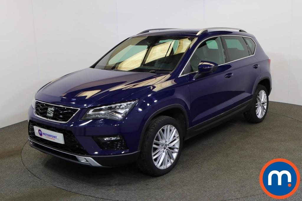 Seat Ateca 1.4 EcoTSI Xcellence 5dr - Stock Number 1143080 Passenger side front corner