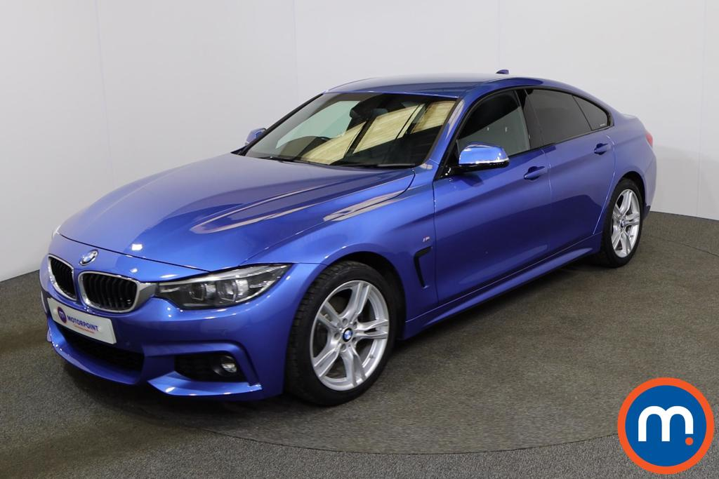 BMW 4 Series 420d [190] M Sport 5dr Auto [Professional Media] - Stock Number 1144544 Passenger side front corner
