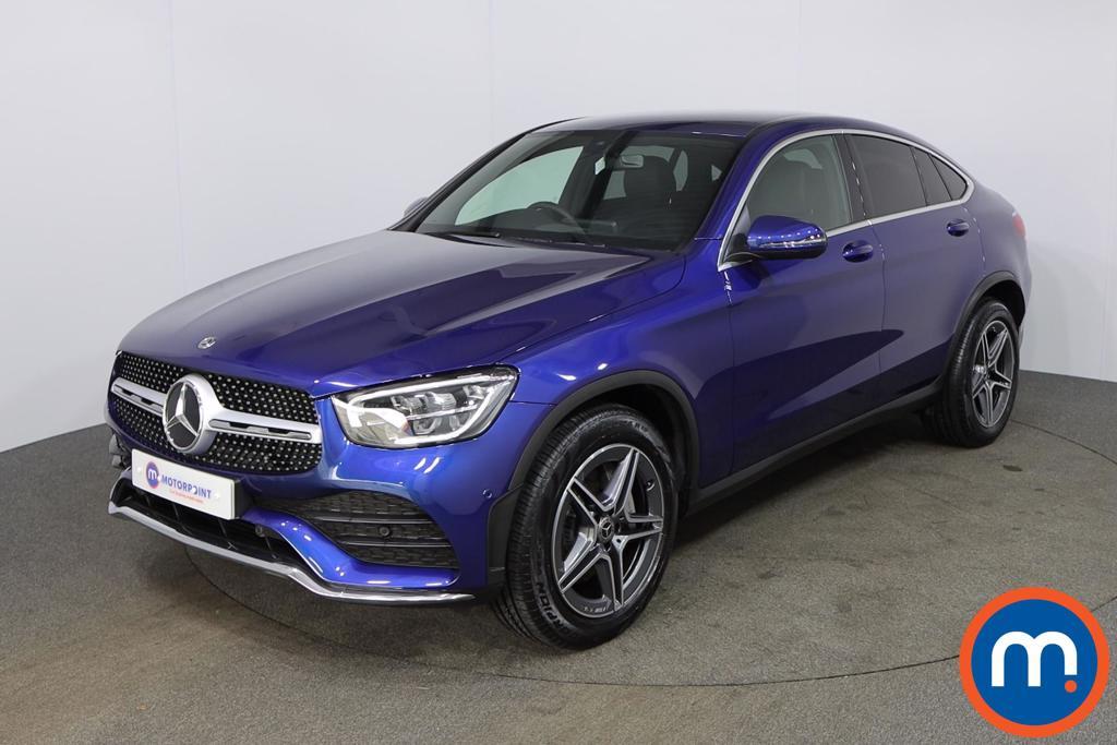 Mercedes-Benz Glc Coupe AMG Line - Stock Number 1147951 Passenger side front corner