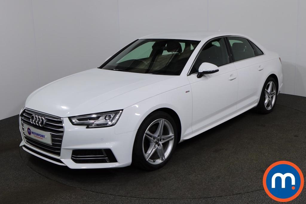 Audi A4 1.4T FSI S Line 4dr [Leather-Alc] - Stock Number 1149020 Passenger side front corner