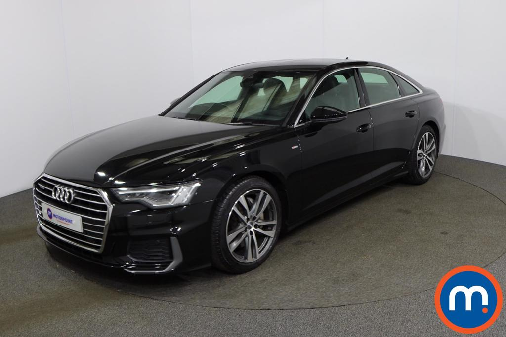 Audi A6 50 TDI Quattro S Line 4dr Tip Auto [Tech Pack] - Stock Number 1150314 Passenger side front corner