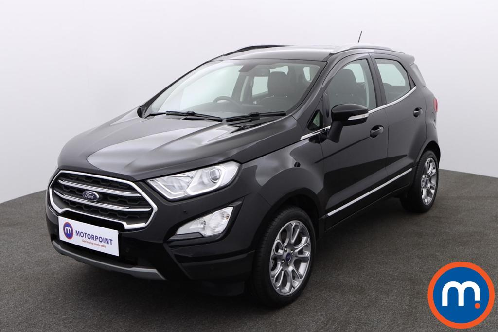 Ford Ecosport Titanium - Stock Number 1147761 Passenger side front corner