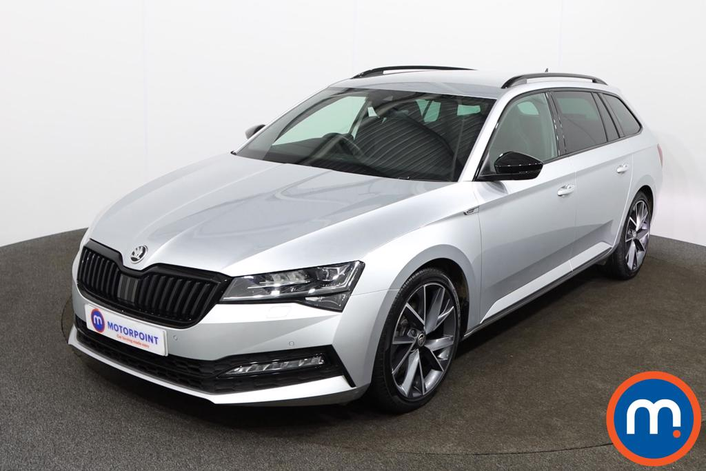 Skoda Superb 2.0 TDI CR 190 Sport Line Plus 5dr DSG - Stock Number 1149499 Passenger side front corner