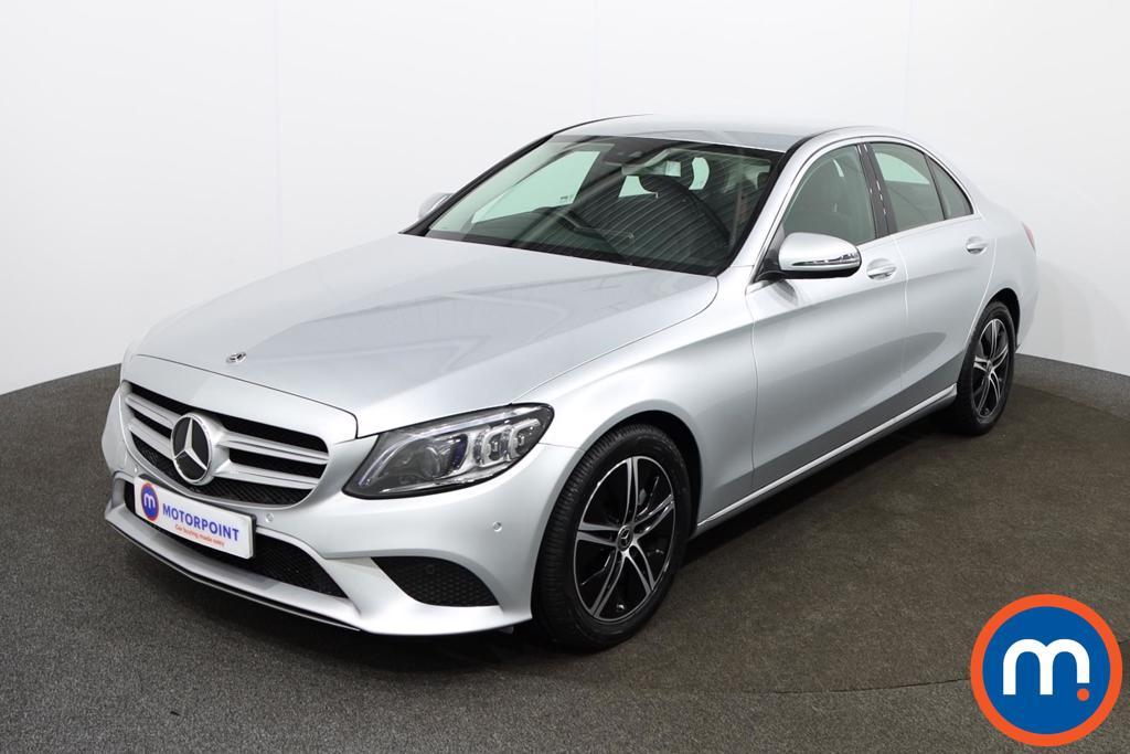 Mercedes-Benz C Class Sport - Stock Number 1142063 Passenger side front corner
