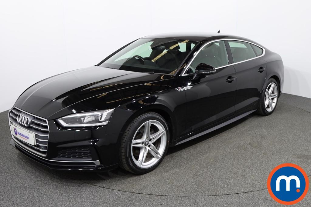 Audi A5 S Line - Stock Number 1143695 Passenger side front corner