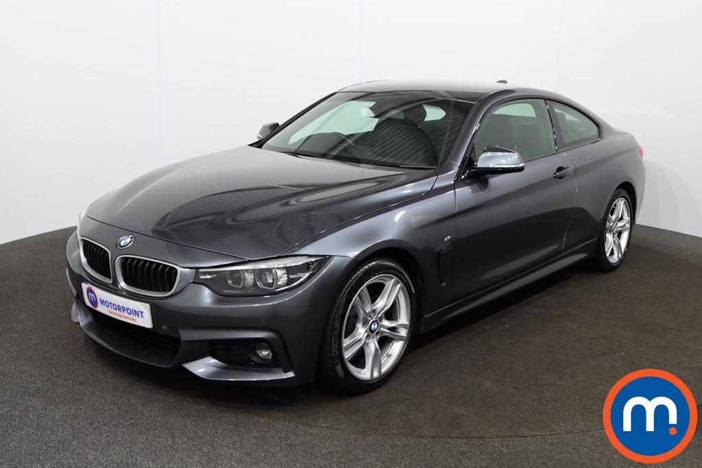 BMW 4 Series 420d [190] M Sport 2dr Auto [Professional Media] - Stock Number 1146237 Passenger side front corner
