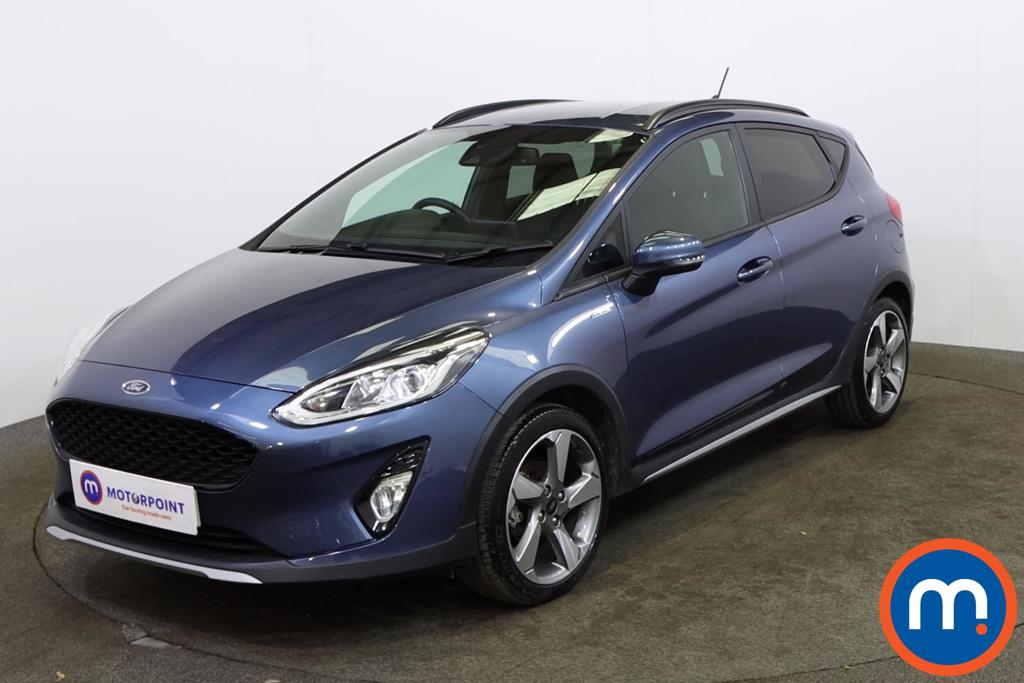 Ford Fiesta 1.0 EcoBoost 95 Active Edition 5dr - Stock Number 1146751 Passenger side front corner
