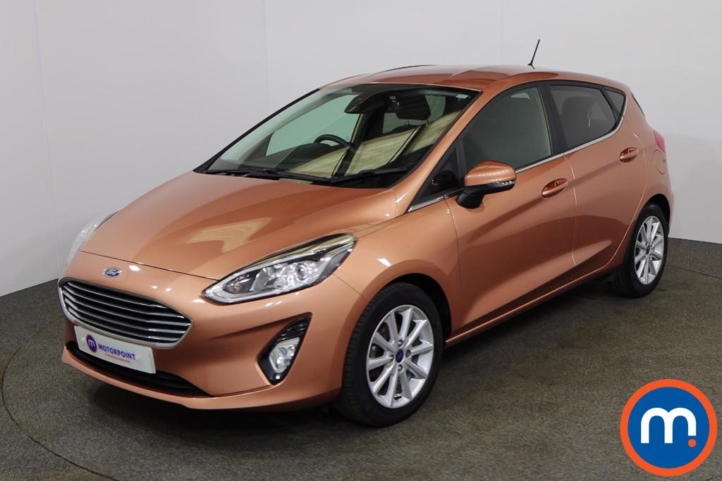 Ford Fiesta 1.0 EcoBoost Titanium B-PlusO Play 5dr - Stock Number 1148369 Passenger side front corner