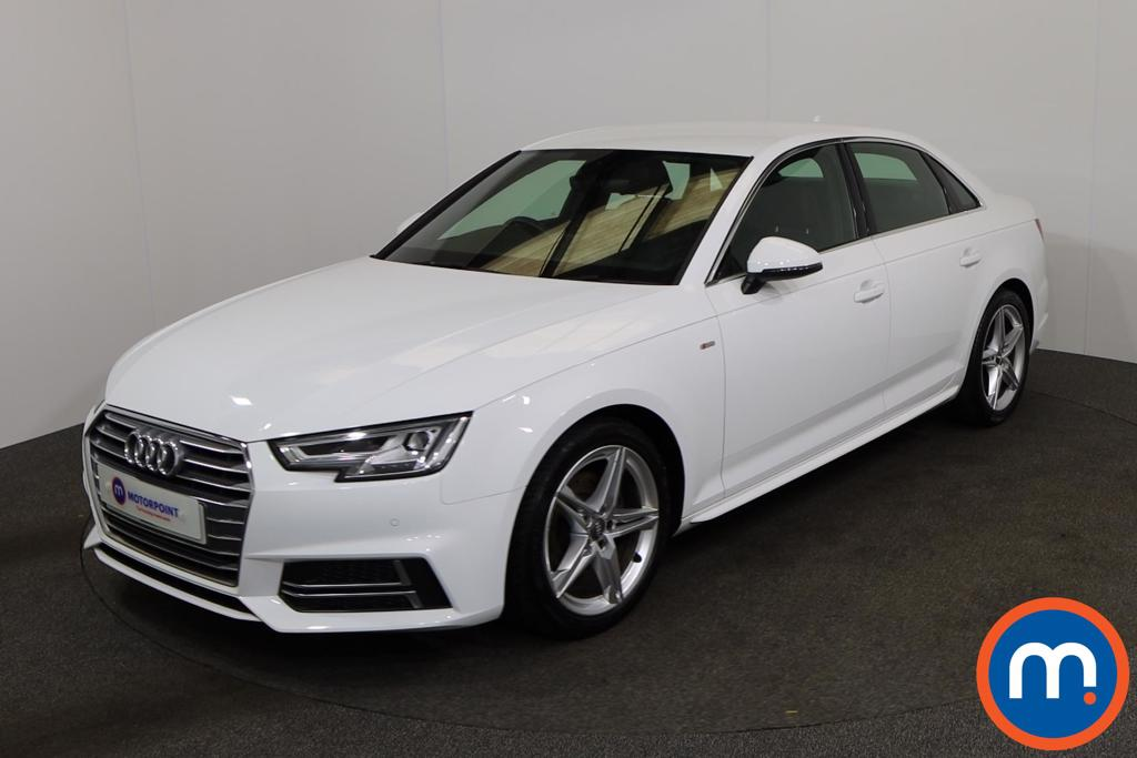 Audi A4 1.4T FSI S Line 4dr S Tronic [Leather-Alc] - Stock Number 1149039 Passenger side front corner