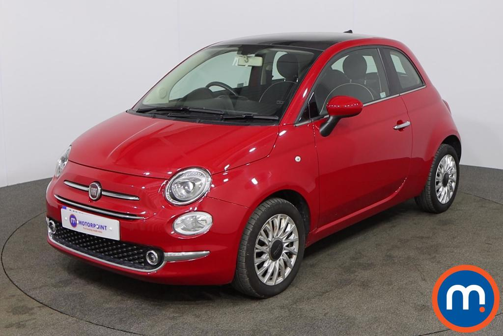 Fiat 500 Lounge - Stock Number 1133248 Passenger side front corner