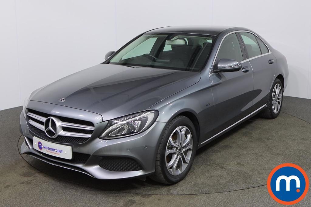 Mercedes-Benz C Class Sport - Stock Number 1147451 Passenger side front corner