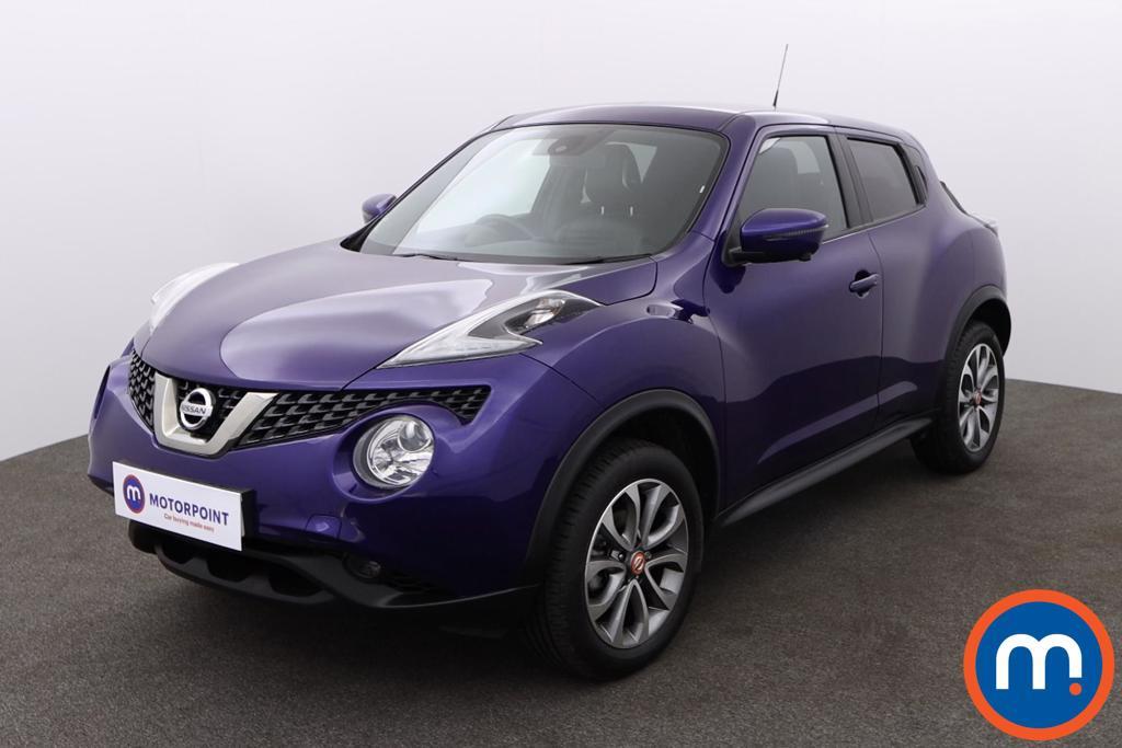 Nissan Juke Tekna - Stock Number 1146591 Passenger side front corner