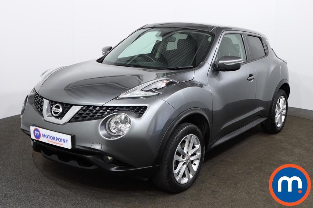 Nissan Juke Acenta - Stock Number 1147864 Passenger side front corner
