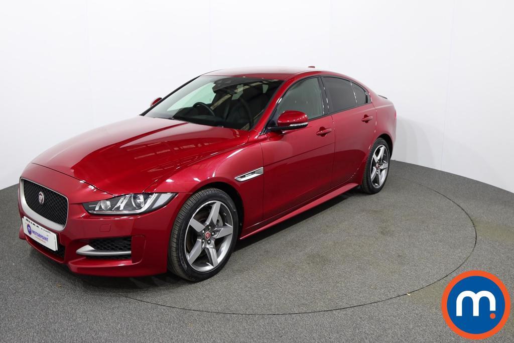Jaguar XE R-Sport - Stock Number 1149420 Passenger side front corner