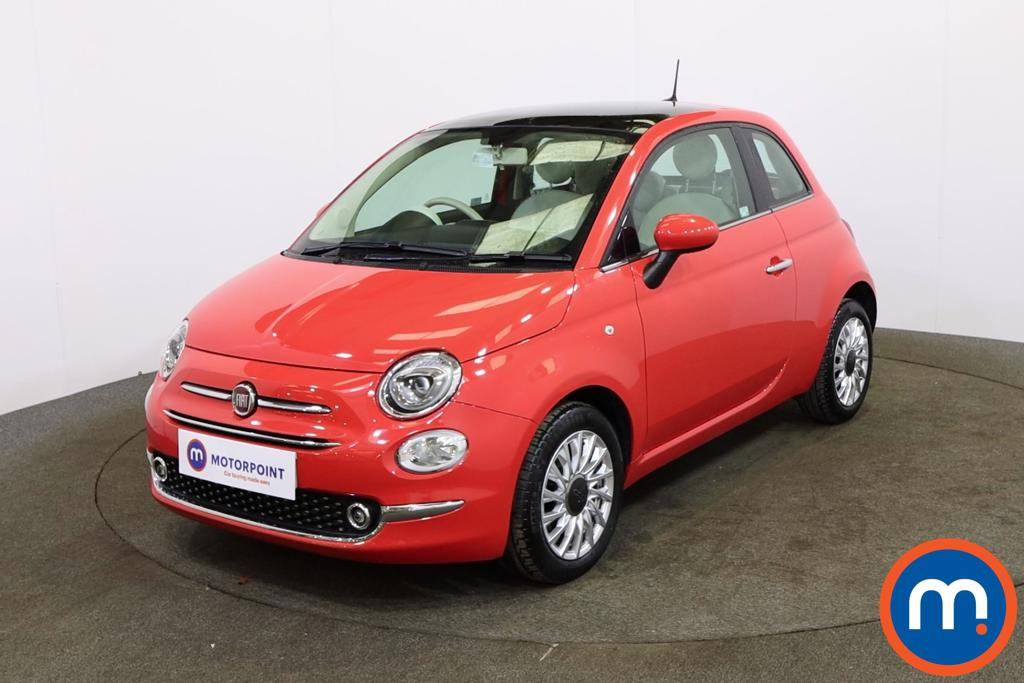 Fiat 500 1.2 Lounge 3dr - Stock Number 1149423 Passenger side front corner