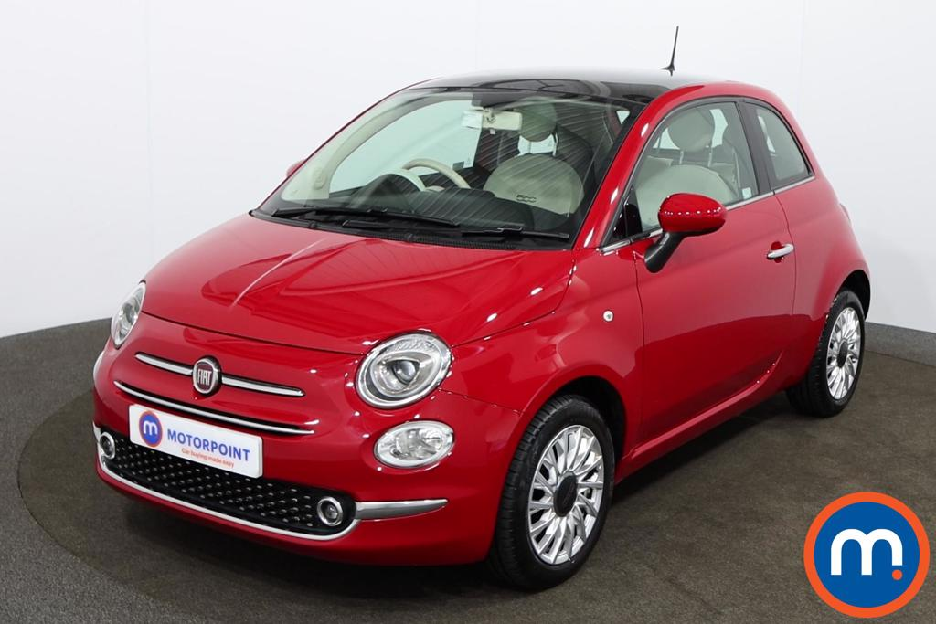 Fiat 500 Lounge - Stock Number 1149484 Passenger side front corner
