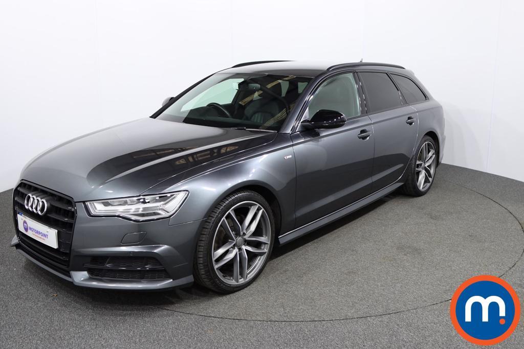 Audi A6 Black Edition - Stock Number 1150220 Passenger side front corner