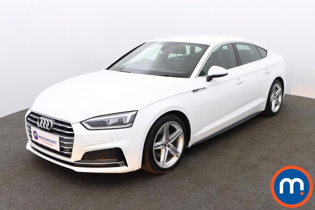 Audi A5 S Line - Stock Number 1147162 Passenger side front corner