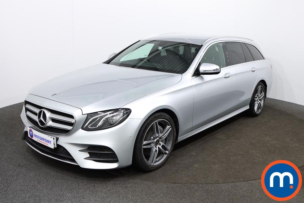 Mercedes-Benz E Class E220d AMG Line 5dr 9G-Tronic - Stock Number 1149064 Passenger side front corner