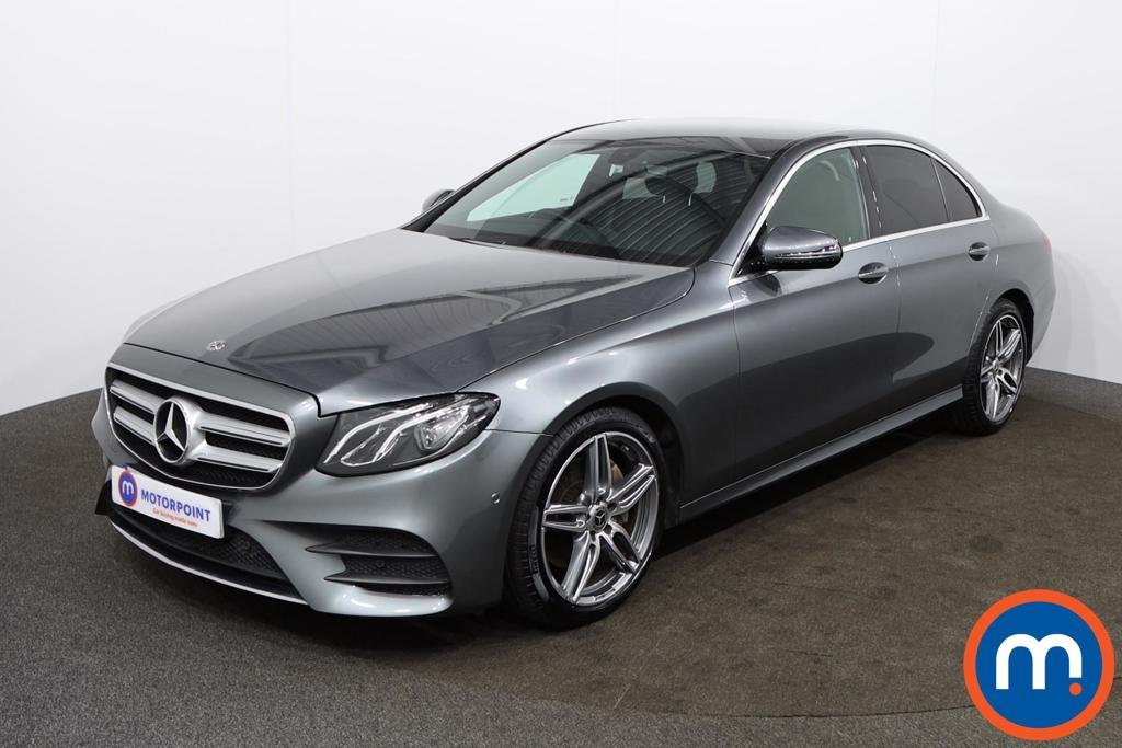 Mercedes-Benz E Class E220d AMG Line 4dr 9G-Tronic - Stock Number 1149069 Passenger side front corner