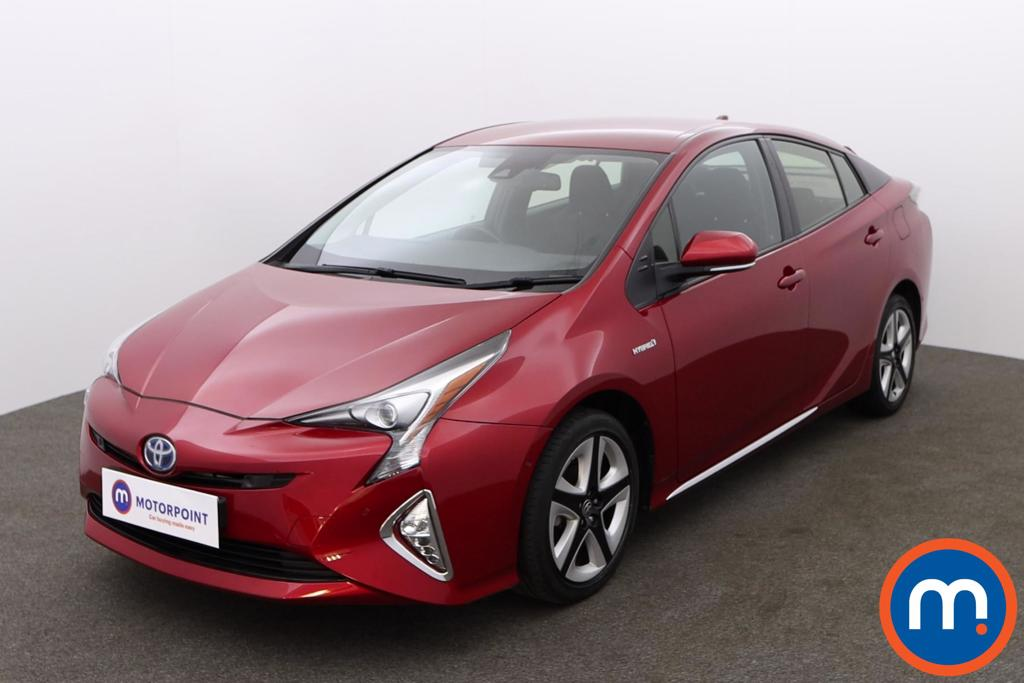 Toyota Prius 1.8 VVTi Business Edition Plus 5dr CVT - Stock Number 1148357 Passenger side front corner
