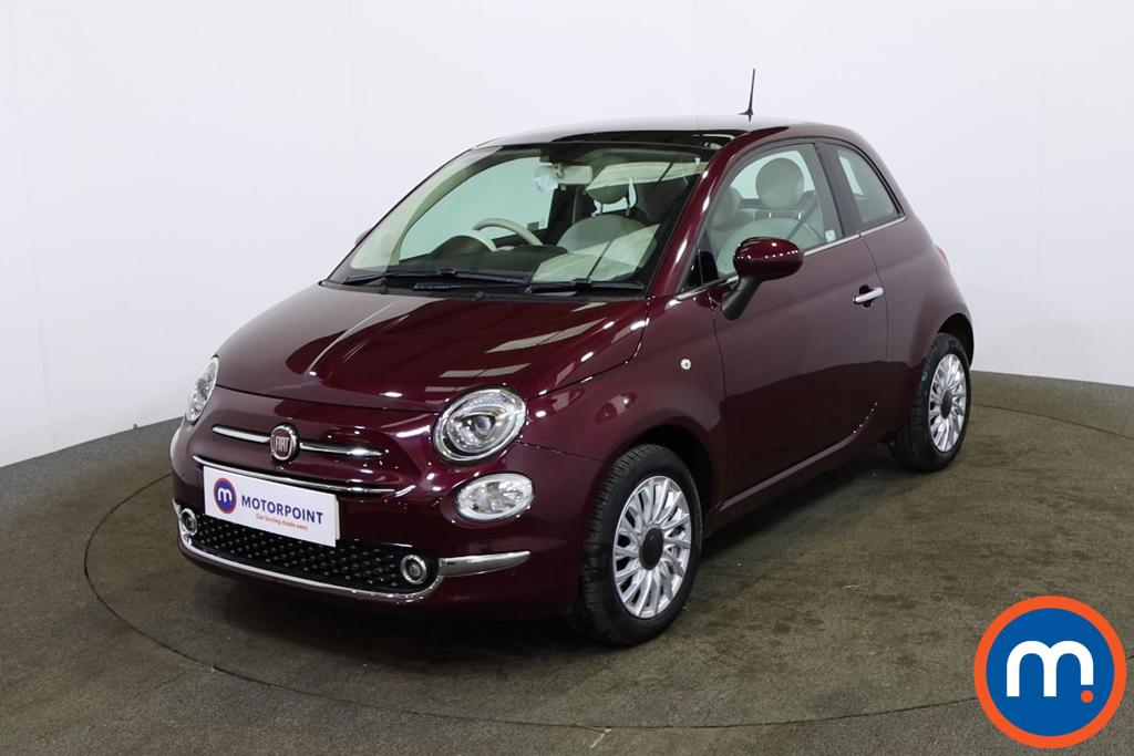 Fiat 500 Lounge - Stock Number 1149422 Passenger side front corner