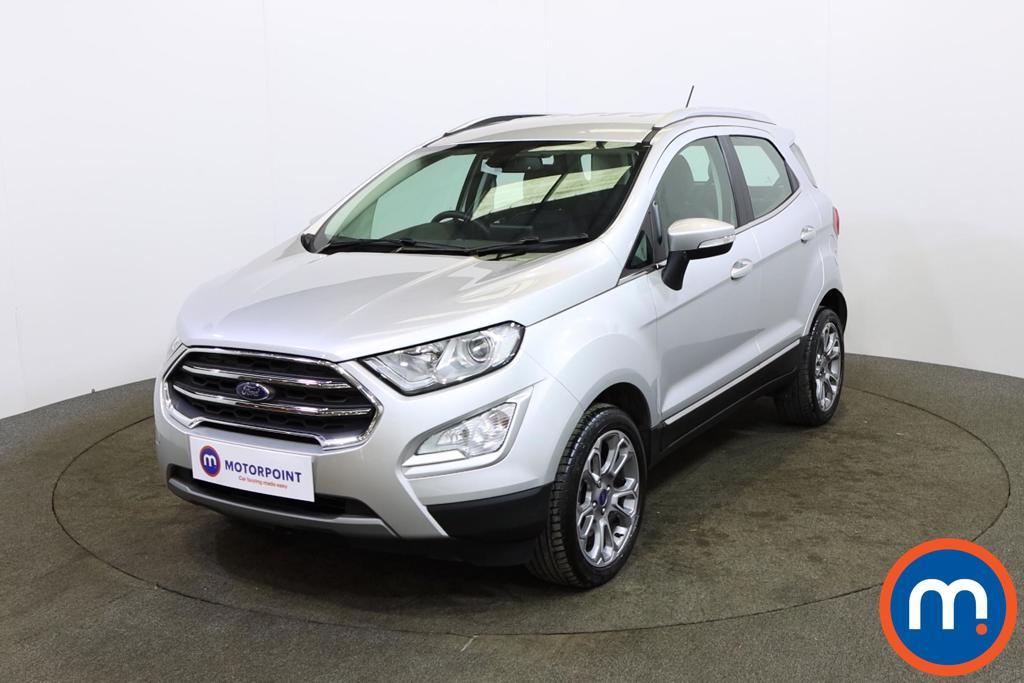 Ford Ecosport Titanium - Stock Number 1151751 Passenger side front corner